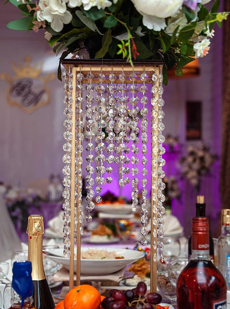 фото свадебного декора стола