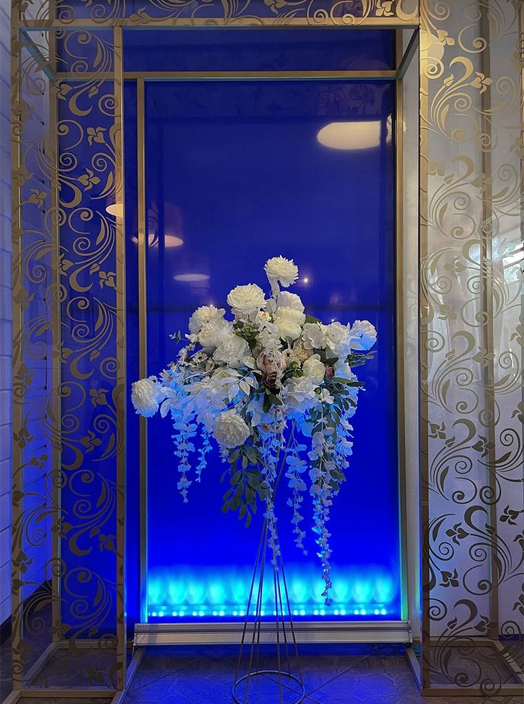 фото цветочной тумбы