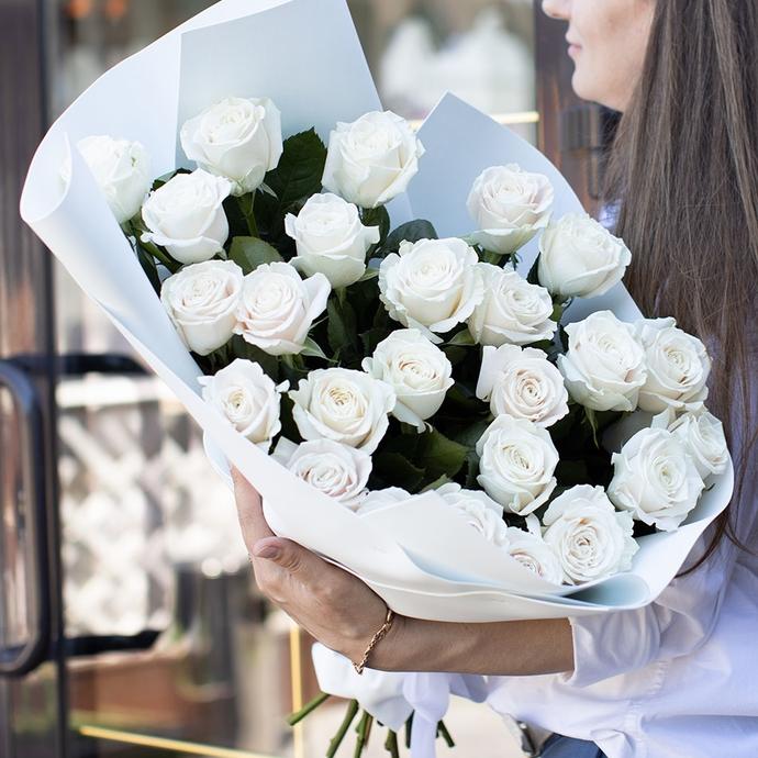 фото букета «Белый рай»